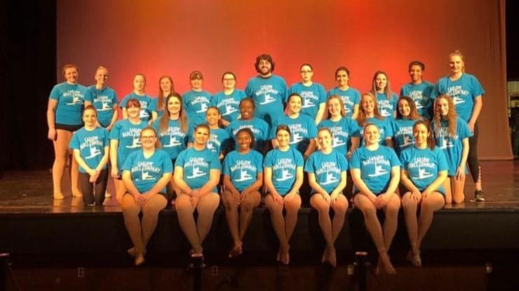 Carlow Dance Company courtesy of Amber Kanoza's insta