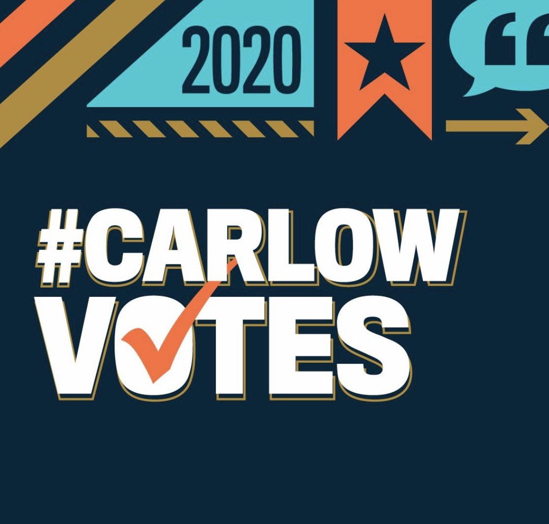 #CarlowVotes graphic